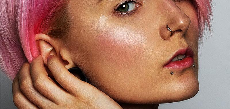 legendary piercings - nose & lip